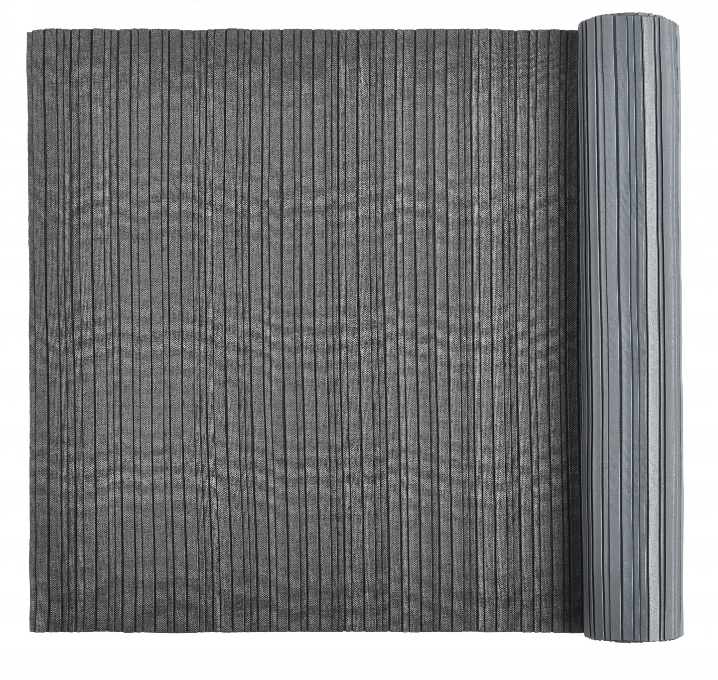 I_X_I_Tablerunner_pleated_dark_grey